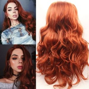Auburn Beauty Lace Front Wig